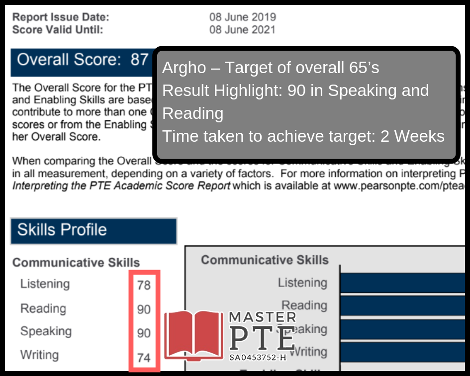 Master PTE Academic – Achieve FOUR 79's in your PTE exam!